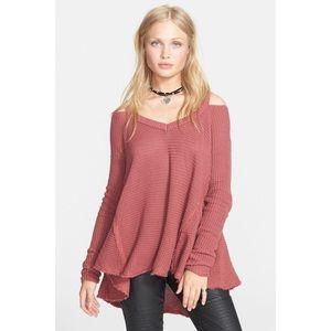🎀 Free People • Moonshine V Neck Sweater